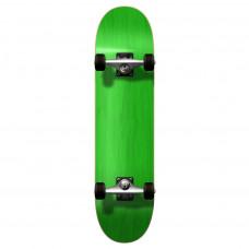 "Skateboard 7.75"" Maple Upgraded Green"