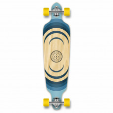 Longboard Maple Upgraded Drop Through Wood Blue Discount