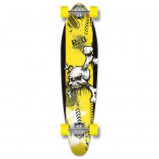 Kicktail Longboard Complete - Skull Series -YSKULL