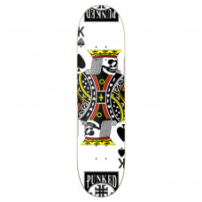 "Skateboard Deck 8.25"" Cards King Of Spades"