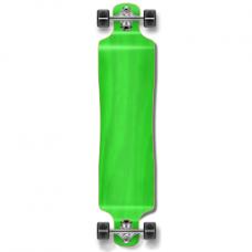 Longboard Maple Upgraded Lowrider Green