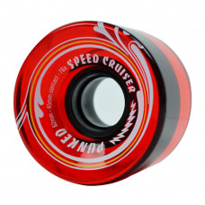62mm Longboard Skateboard x 4 Cruiser Wheels 78A Gel Red