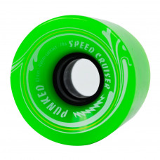 62mm Longboard Skateboard x 4 Cruiser Wheels 78A Green