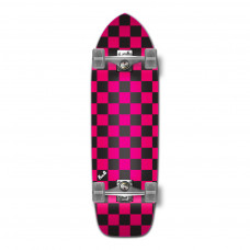 Old School Cruiser Maple Upgraded Pink Black Chequer