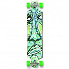 Longboard Maple Upgraded Lowrider Green Face Numbers