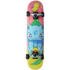 "Skateboard 7.75"" Maple Upgraded Pika Bulbi"