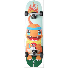 "Skateboard 7.75"" Maple Upgraded Pika Charm"