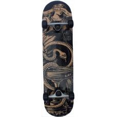 "Skateboard 7.75"" Maple Upgraded Snake Justice Tattoo Style"